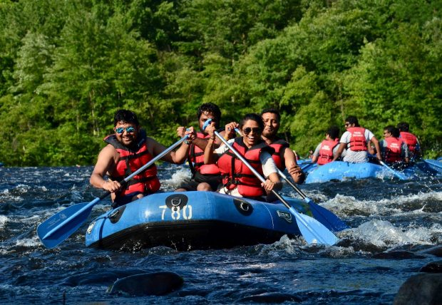 Rafters Rafting with Pocono Whitewater