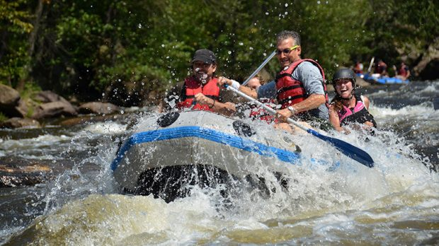pocono whitewater rafting guide